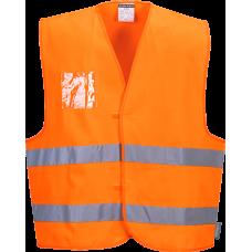 Hi-Vis 2-Band Vest ID