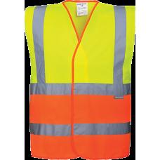 Two-Tone Hi-Vis Vest