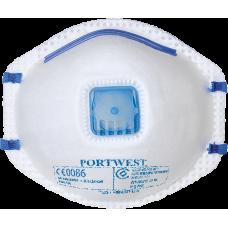 P2V Respirator Valved (10)
