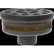A2 Gas Filter Uni Tread  (Pk6)