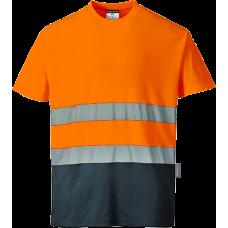 2-Tone Cotton Comfort T-Shirt
