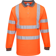 Hi-Vis Polo Shirt  L/S